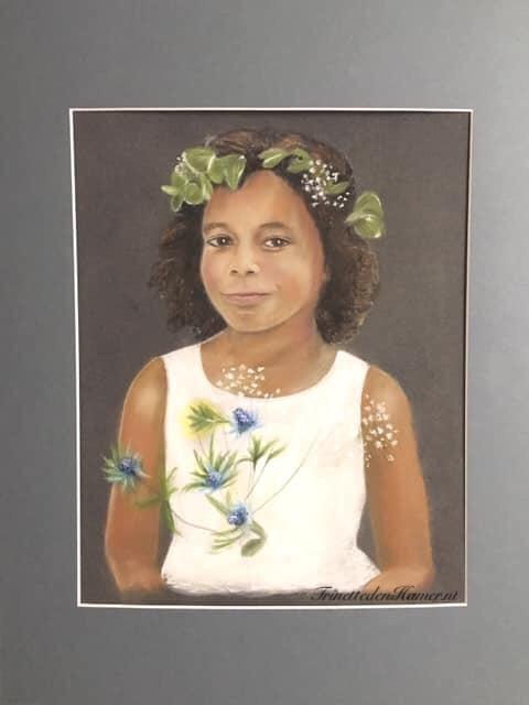 Portret van Nikki