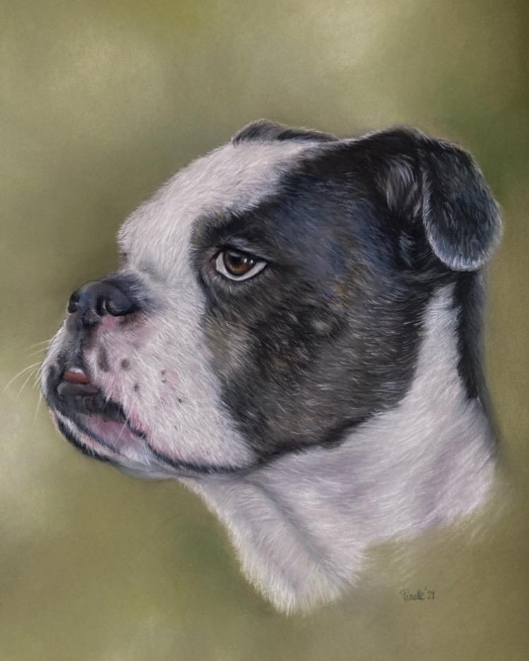 Portret van Tyson